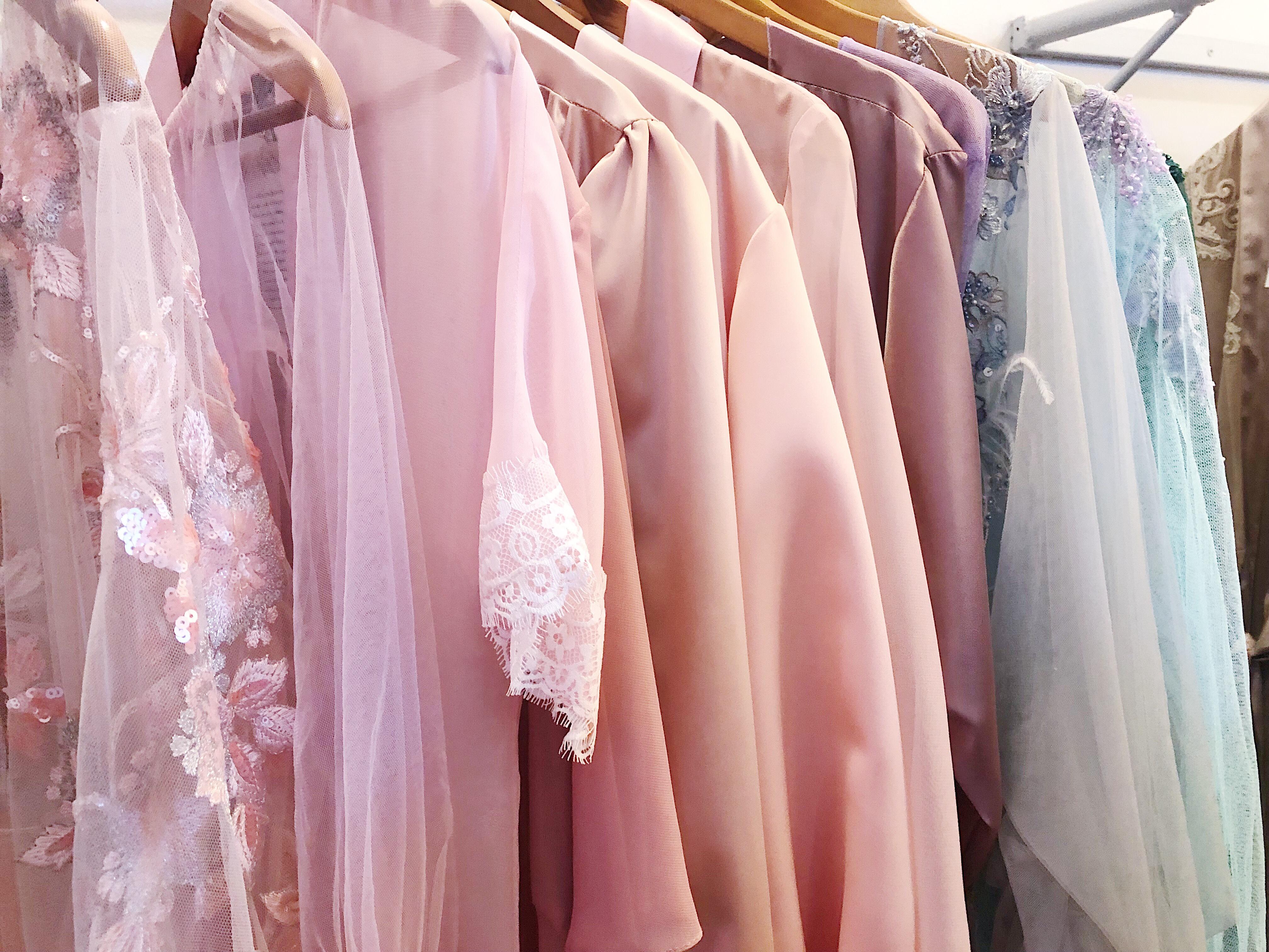 Pastel Bridal Robe